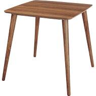 商品名:WOODYダイニングテーブル【ダイニング】【木製】【ブラウン】【折り畳み】【シンプル】【木目】【デスク】【242】【楽天】【通販】