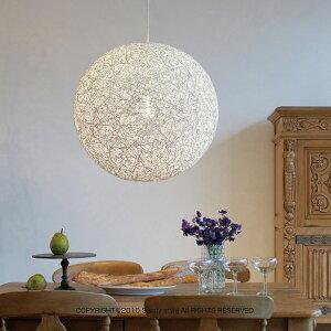 麻紐を樹脂でコーティングした落ち着いた存在感と温かみを演出したデザイン。壁面に写る陰影も...