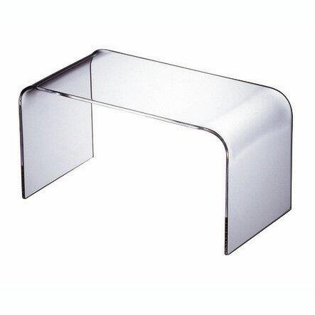 【日本製】【UV加工】【アクリル】WAAZWIZ(ワーズウィズ)商品名:Plain low table - L(コーヒーテーブル)【透明】【家具】【軽い】【デザイン】【テレビ台】【クリア】【プラスチック】【樹脂】【コーヒーテーブル】【楽天】【通販】