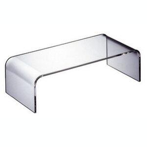 純粋無垢の透明感。シンプルで飽きないアクリルのテーブル。WAAZWIZ(ワーズウィズ)【送料無料】「テーブル15」【CanadaFesta2010】【10P08mar10】【P08mar10新規店】【P0222】