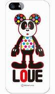 SH-03F/303SH/301F/F-03F/SH-02F/L02/SHL24/WX05SH/302SH/Love Panda design by Moisture/ソフトケース/TPU/全4色/スマホケース/docomo/au/softbank