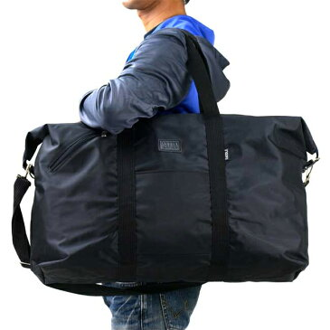 大きめナイロンボストンバッグ メンズ ワイド60センチ デカイ 大容量バック BAG ショルダーベルト付