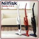 業務用のプロが追求した、使いやすさ と 吸引力ニルフィスク 掃除機 充電式スティック&ハンデ...