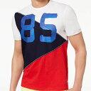 【メンズ】Tommy Hilfiger(トミーヒルフィガー) 85デザインTシャツ(White)