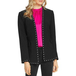 Blazer ファッション ブレザー Vince Camuto Womens Studded Suit Seperate Open-Front Blazer Jacket