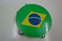 【サッカー応援♪】ブラジル・タンバリン
