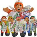 エケコL(23cm)【ペルー・ボリビアの守り神エケコ人形・ラッキー・幸運・金運・福の神・6カラー・6色】の商品画像