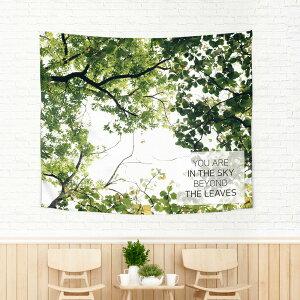 タペストリーインテリア壁北欧秋カフェ韓国大きい目隠し植物花かわいいフラワーボタニカルファブリックポスターおしゃれ送料無料テーブルクロスソファーカバーサンサンフーコレクション-150×130cm