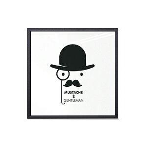 【アルミアートフレーム】1万円以上購入で送料無料ウォールデコポスターパネル額縁アルミ製シンプル【モダンタイムズ277x277mm】