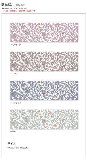 サンサンフー【ファブリックパネル】バードツリーB88x25