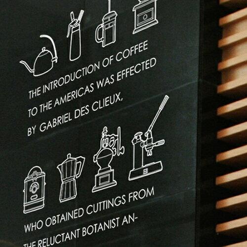 ウォールステッカー 【カフェ・エ・テール】 壁 窓 リフォーム 転写 リビング 壁シール wallsticker インテリアシール カフェ お店 キッチン サンサンフー