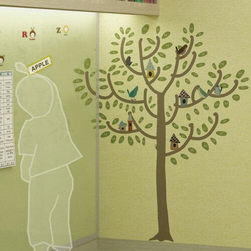 ウォールステッカー _ 学習シール、木、子ども、子供、お手伝い、ご褒美シール