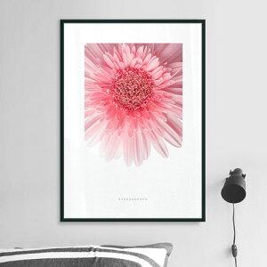 ポスターインテリアA3お花モダン植物おしゃれアートポスターアートプリントフォトポスターサンサンフーフラワーコレクションA3※フレーム付