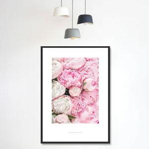 ポスターインテリアA2お花モダン植物おしゃれアートポスターアートプリントフォトポスターサンサンフーフラワーコレクションA2※フレームなし
