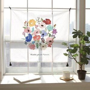 タペストリーピンクタッセル付きかわいいおしゃれファブリックポスター北欧おしゃれウォールフラッグガーランドテーブルクロスソファーカバーマルチファブリックサンサンフー72×80cm20種類
