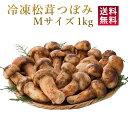 【ポイント2倍】冷凍 松茸 特選 つぼみ M (7-9cm)