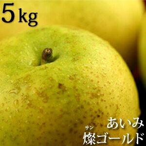 あいみ燦ゴールド(ゴールド二十世紀梨)5kg詰(18玉入) 鳥取特産 秀品 送料無料