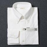 INDUSTYLE TOKYO ボタンダウンシャツ( インダスタイルトウキョウ メンズ Yシャツ ワイシャツ ビジネス カジュアル 長袖 無地 ワイドカラー ギフト )[産経ネットショップ]