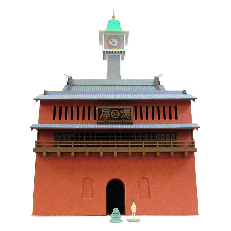 【楽天市場】【時計塔】千と千尋の神隠し 紙模 …