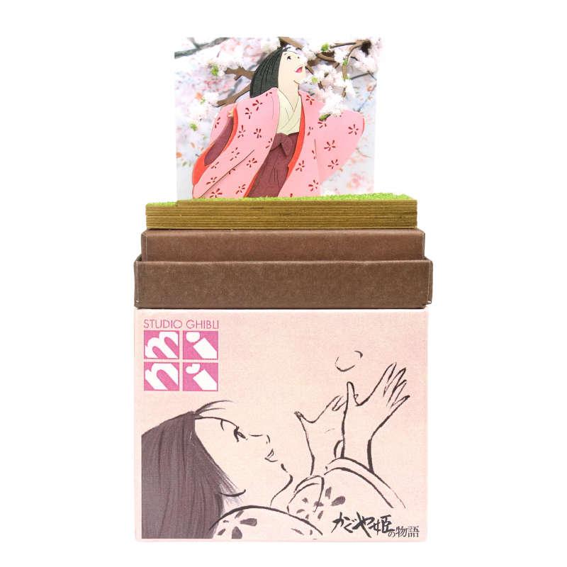 2020年10月31日(土)発売予定みにちゅあーとキット スタジオジブリmini かぐや姫の物語 【山桜の木の下で】画像