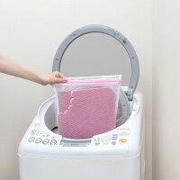 サンコー日本製おくだけ吸着ズレな〜いトイレマット無地KV-08ローズおくだけ吸着トイレ撥水洗える薄いズレないトイレマットインテリア