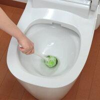 サンコーびっくりフレッシュコーティング用トイレクリーナーグリーン/ブラウン日本製