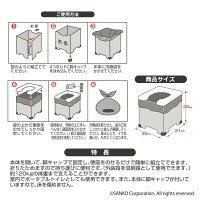 【7月4日-11日店内全品P19倍!+エントリーでP最大44倍!】サンコー非常用簡易トイレ凝固剤10gタイプ日本製