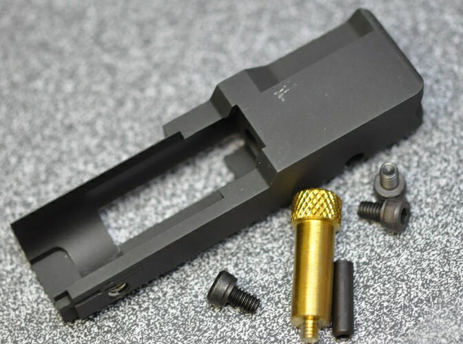RGW ボルトキャリアー CNC KJ 10/22(HAWK EYE共用)アルミCNC 18002-8800