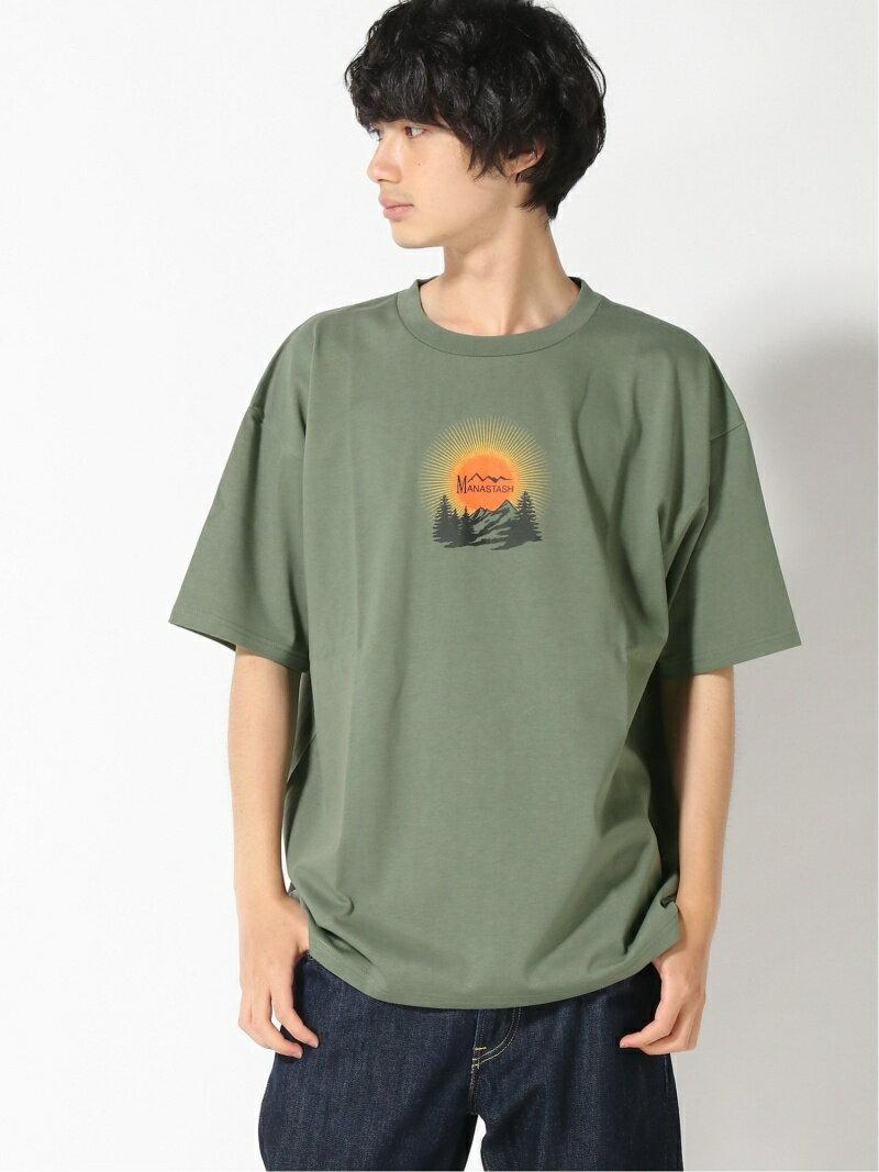トップス, Tシャツ・カットソー MANASTASH(M)MANASTASH RECYCLED TEE DAY BREAK MANASTASH T Rakuten Fashion