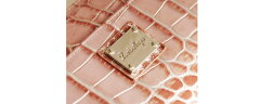 [LouisAnge]ルイ・アンジュイタリーカウラウンドファスナー長財布クロコダイル型押し/レディース(NO.09000026)