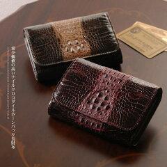 人気の CROCODILE(クロコダイル)財布 メンズ ブラック etc お財布 プレゼントにも最適♪ クロコ...