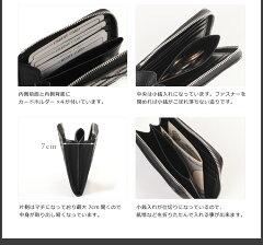 クロコダイル財布L字ファスナーシャイニング加工カットワークデザイン/レディース(No.06000571)