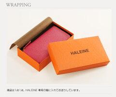 HALEINE[アレンヌ]長財布本革Wラウンドファスナーフランスレザー/レディース(No.07000105)