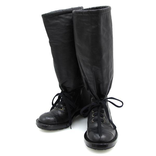 シャネル ブーツ  【Bランク】