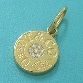 【送料無料】【中古】ティファニー 1837サークルチャーム/パヴェダイヤモンド 【無料ギフトラッピング】【Aランク】