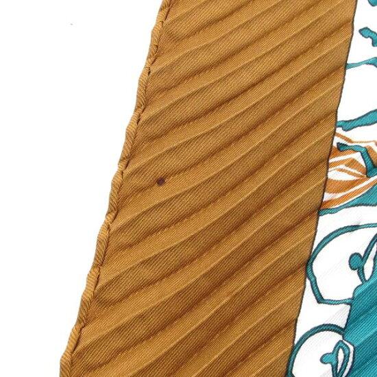60f26ad47a8891 【】エルメス プリーツスカーフ 【Bランク】 [ブランド販売なら質屋さのや!バッグ·時計·宝石·古着·毛皮·雑貨の通販サイト]