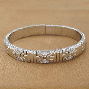 Bvlgari Parentesi Diamond Bangle [Free Gift Wrapping] [A Rank] [Used]