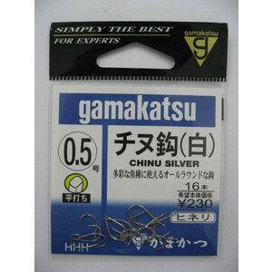 がまかつ(gamakatsu) 針 バラ チヌ鈎 白 (0.5号〜7号) 【メール便発送可】 (261031−P5)