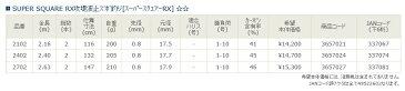 宇崎日新(NISSIN) 埠頭・メバル SUPER SQUARE RX攻堤波止ズボ釣り 2.16m (MEBARU)