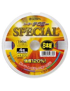 【40%OFF】ゴーセン(GOSEN) PEライン メーターテクミー スペシャル 100mx12連結 (10mx5色) 10号  (船)