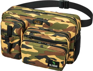 B-TRUE バンクスタイルヒップバッグ カモ (BT-bag)