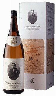 【送料無料!】【ポイント10倍】熊楠 本醸造 1.8L<化粧箱入り>和歌山県/世界一統