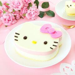 ハローキティ ホワイトチョコとフランボアムースのふんわりとろけるミルキーケーキ