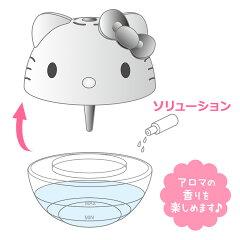 ハローキティフェイス形空気洗浄機