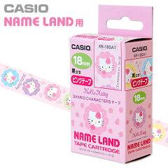 ハローキティカシオNAMELAND用テープ(バラ)