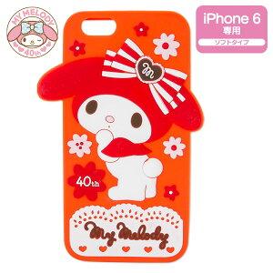 マイメロディ40th iPhone 6カバー(ガーリーレッド)