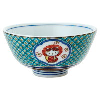ハローキティ 九谷焼茶碗(七宝小紋)