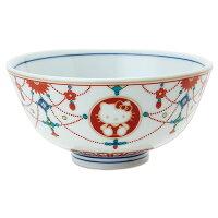 ハローキティ 九谷焼茶碗(瓔珞文)