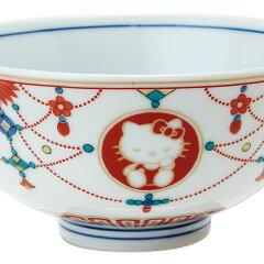 ハローキティ九谷焼茶碗(瓔珞文)
