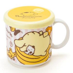 ポムポムプリン フタ付きマグカップ(ホットケーキ)